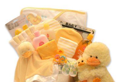 ชุดอาบน้ำสำหรับเด็กทารก Just Ducky Bath Bucket